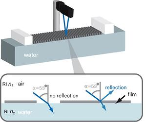 Brewster angle microscopy principle