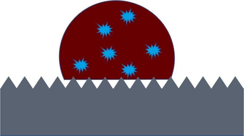platelets on a surface 2